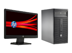 HP 280 G1 Microtower PC Bundle